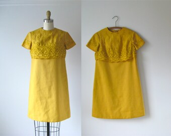 SALE vintage 1960s dress / 60s dress / Billy Buttons