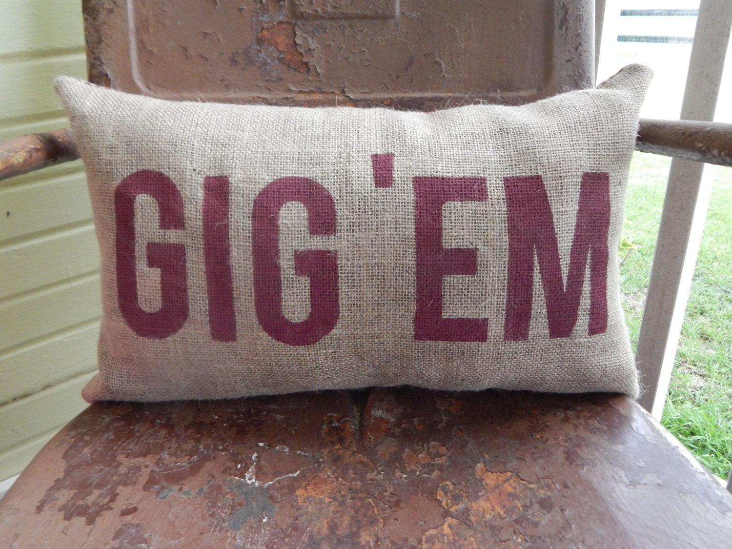 Texas A Amp M Aggies Gig Em Aggie Pillow Collegiate By
