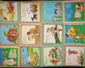 SALE Nursery Rhyme Wall Hanging Quilt