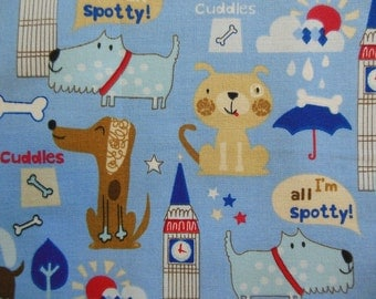 Fat Quarter - Puppies in the City