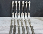 Charter Oak Silver Plate Forks and Knives