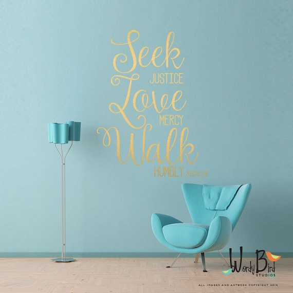 scripture christian wall decal gold wall sticker. Black Bedroom Furniture Sets. Home Design Ideas