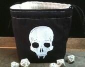 Vampire Skull Dice Bag