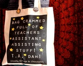 Personalised Teaching assistants gift end of term gift for a teaching assistant