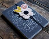 Felt Bookmark - Bookclub Gift,  Teacher Gift,  Reader Gift
