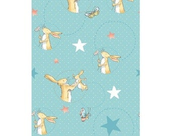 Bunny Fabric Guess How Much I Love You by Anita Jeram One Yard