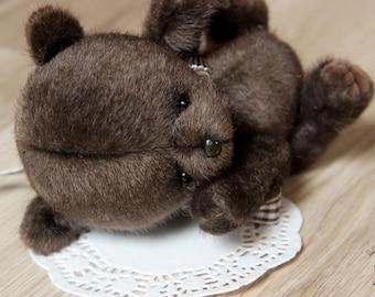 Maffin (Made to order)  Teddy bear ,baby bear , toy , toys , Artist Teddy Bears, stuffed Animal Bear, Stuffed Bear