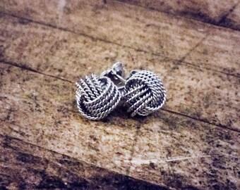 Twisted Love Knot Earrings