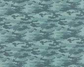Camo in Sky - 31105-18 NOMAD by Urban Chiks for Moda Fabrics - 1 Yard