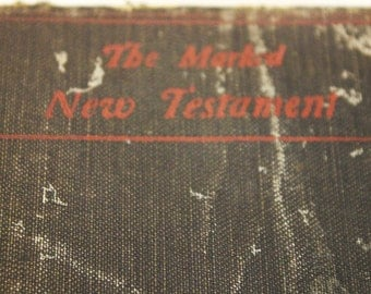 Vintage  The Mark New Testament Bible - 1899