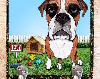 Boxer Leash Hook Pet Leash Hook Dog Leash Collar Hook Pet Home Decor custom