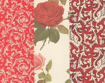 Deep Reds Collection of 12x12 Art Papers for Gift Wrap Card Making and Scrapbooking