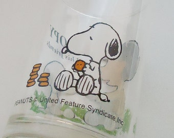 The Snoopy Glass.80s.Japanese.