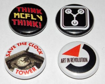 Back to the Future 25mm / 1 inch Button Badge - Marty McFly