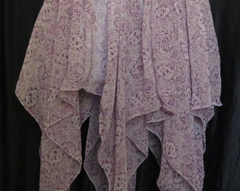 Adult Purple Fairy Skirt