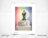 Wedding Cake - 8x11 Print
