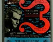 Mozart Eine Kleine Nachtmusik, Symphony No. 30 Joseph Keilberth Bamberg Symphony Orchestra 1954 Telefunken Boxed LP  Vintage Vinyl Record