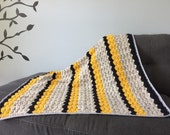 Striped Max Where the Wild Things Are Inspired Crochet Baby Blanket - by Julian Bean