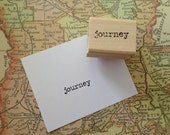 journey - wood mounted rubber stamp by Mary C. Nasser for RubberMoon MN6A