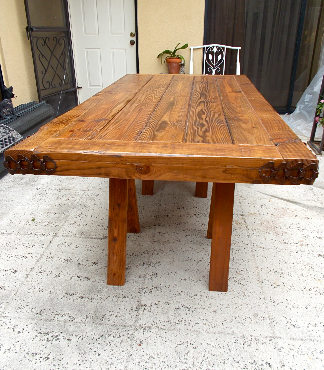 fabulous farmhouse dining table with bench photos designs