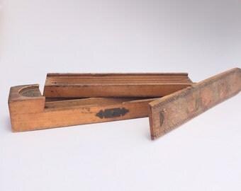 Wooden Pencil Case