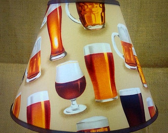 Beer Mug Glasses Lamp Shade