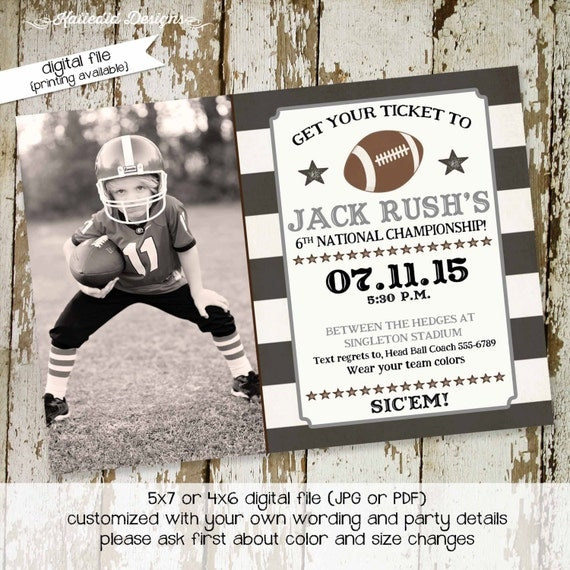 football birthday invitations baby boy shower vintage ticket party retirement couples evite birth announcement  270 shabby chic invitations