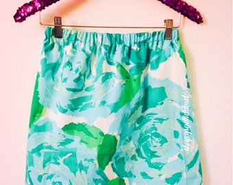 Blue First Impression Inspired Lilly Pulitzer Skirt HPFI