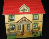 Antique Lithograph Bliss House Want to Be
