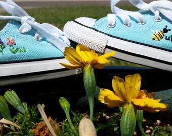 Baby Custom Shoes Converse/Toms/Vans