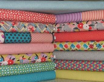 Gardenvale Fat Quarter Bundle of 15 by Jen Kingwell for Moda