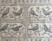 The Birds Wrapping Paper KWSPS310 - Gift Wrap - Kraft Wrap - Birds -  Recycle - Scrapbooking
