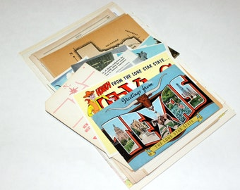 Texas - United States Vintage Travel Collage Kit