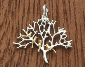 1 of 925 Sterling Silver Tree of Life Pendant 18x20 mm.Polish Finished  :tm0032