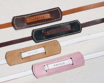 Classic leather camera strap - 4 color
