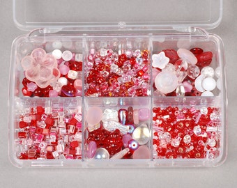 Sweetheart Bead Kit - Czech and Japanese glass beads KIT-017