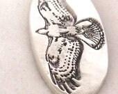 Hawk Fine Silver Pendant -   Fine Silver Jewelry - Bird Necklace -  Bird Lover - Bird of Prey - Bird Watcher - Gift Ideas - Trending Items