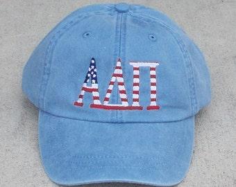 Alpha Delta Pi American Flag Cap