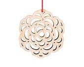 chrysanthemum winter flower ornament