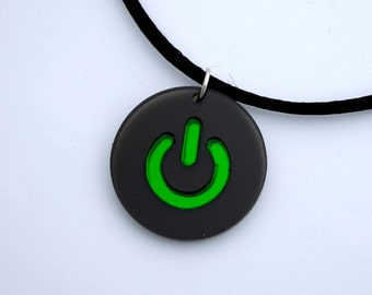 Power Button Necklace