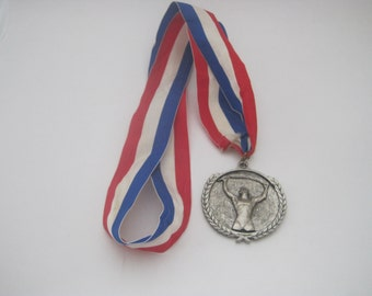 Vintage Softball Medal
