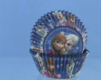 Frozen Cupcake Liners / Cupcake Papers / Frozen Birthday Party
