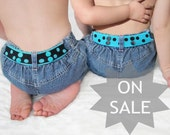 Toddler Belt Reversible - Turquoise & Black