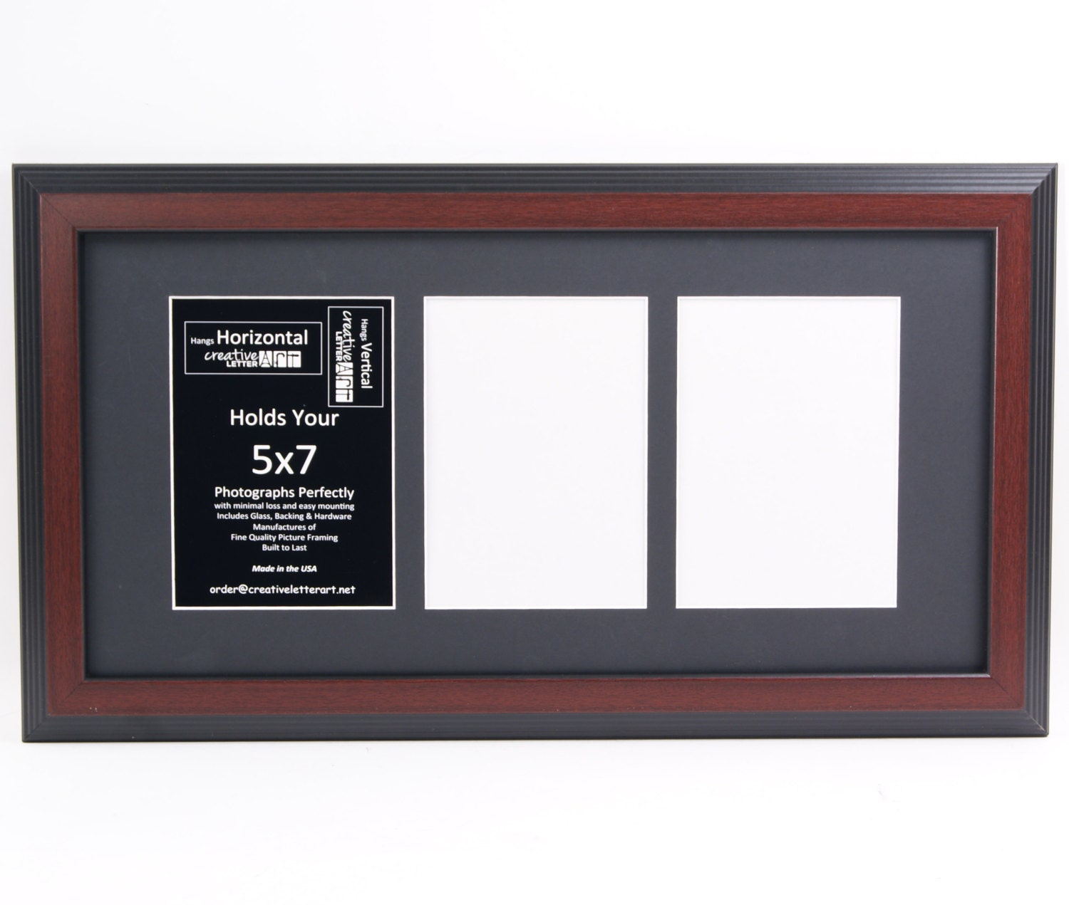 5x7 mahogany picture frames w multi 3 4 5 6 7 opening collage mat 5x7 mahogany picture frames w multi 3 4 5 6 7 opening collage mat to hold 5x7 photographs for wedding name sign or alphabet photography jeuxipadfo Gallery
