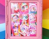 Caramelpops Custom Blythe Dolls Cute Framed Art Print (Limited editon of 10)