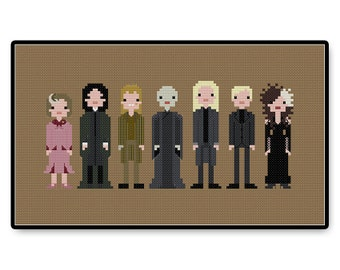 Harry Potter Villains - Cross Stitch PDF Pattern