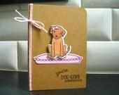 Dog Thank You Card, Doggy Birthday Card, Dog Lover Card