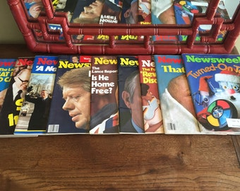 Vintage newsweek 9 issues