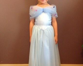 Girls Cinderella Ball Gown - Dress up - Costume