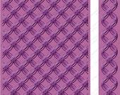 "Embossing Folders 2 pc Set GEOMETRIC RINGS 5"" x 7"" & Border Folder New in Package Cuttlebug cricut provo craft Mixed Lot"